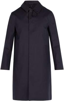 MACKINTOSH Bonded-cotton overcoat