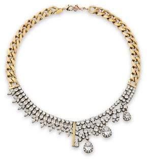 Iosselliani Gold-Tone Crystal Necklace