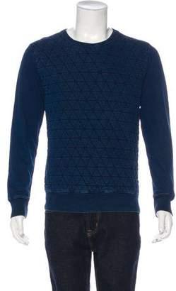 Paul Smith Quilted Crew Neck Sweatshirt