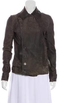 Alexander Wang Long Sleeve Suede Jacket Long Sleeve Suede Jacket