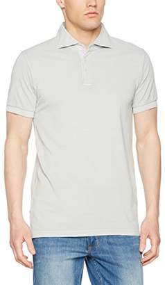 Esprit Women's 027EO2K005 Polo Shirt, Pink (Pastel Grey), Large