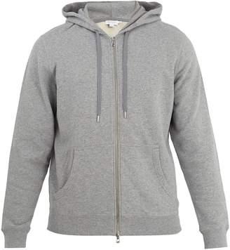 Sunspel Hooded stretch-cotton sweatshirt