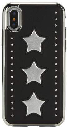 Rebecca Minkoff Leather Star Inlay Case For Iphone Xs Iphone X