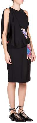 Givenchy Women's Mandala Printed Jersey Dress