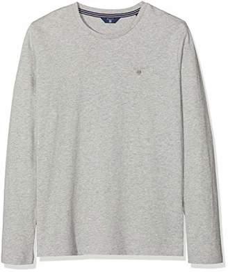 Gant Boy's TB. The Original LS T-Shirt (Light Grey Melange), (Size: 176)