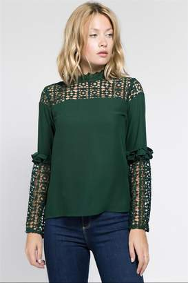 Hunter Lulumari Green Top