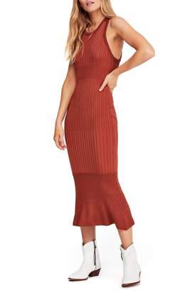 Free People Come My Way Body-Con Sweater Dress