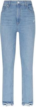 Paige Sarah Slim Distressed Jeans