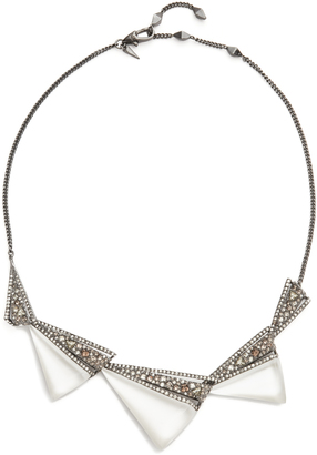 Alexis Bittar Graduated Origami Bib Necklace $275 thestylecure.com