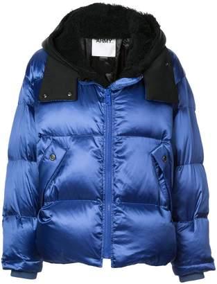 Yves Salomon oversize shearling down-jacket