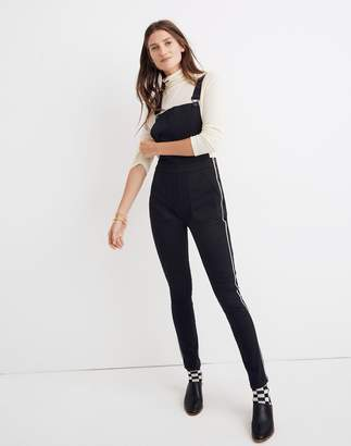 a150500449e2 Madewell Skinny Overalls  Metallic Piping Edition