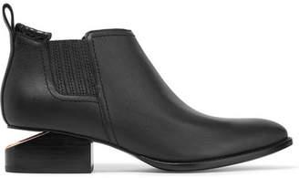 Alexander Wang Kori Cutout Leather Ankle Boots - Black