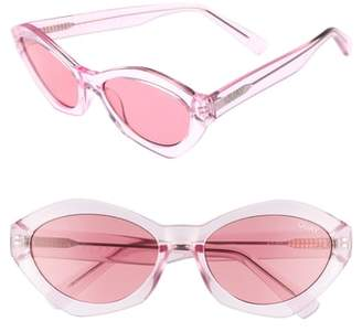 Quay 54mm As If Oval Sunglasses