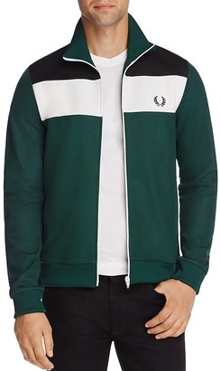 Fred Perry Color-Block Track Jacket - 100% Exclusive $145 thestylecure.com