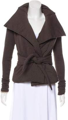 Rick Owens Lilies Quilted Knit Jacket