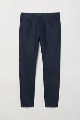 H&M Coated Skinny Jeans - Blue