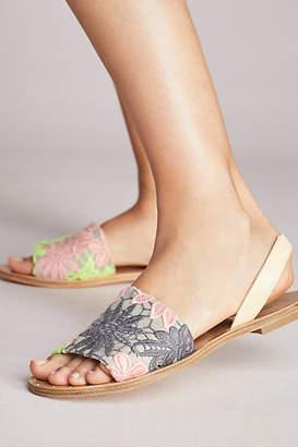 KMB Slingback Slide Sandals