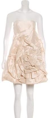 Haute Hippie Silk Strapless Dress w/ Tags