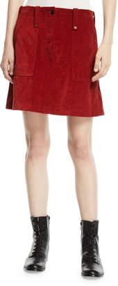 McQ Major Patch-Pocket Short Skirt