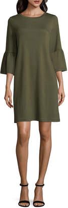 A.N.A Bell Sleeve Shift Dress