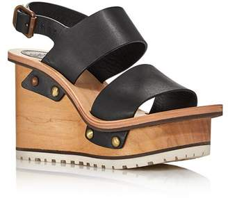 9cddf48eb25 Chloé Black Platform Heel Women's Sandals - ShopStyle