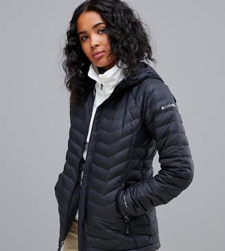 Columbia Powder Lite Hooded Jacket in Black
