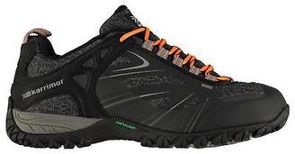 Karrimor Mens Malvern Walking Shoes Non Waterproof Lace Up Breathable Mesh Upper