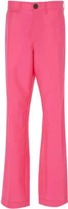 Loewe Mohair and Wool-Blend Straight-Leg Pants