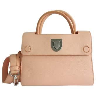 Christian Dior Diorever Beige Leather Handbag