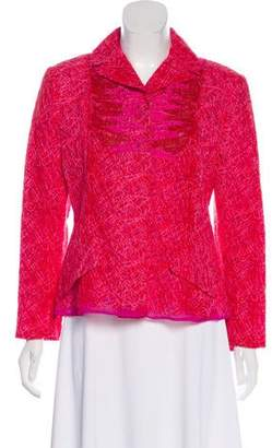 Christian Lacroix Embroidered Mesh Jacket w/ Tags