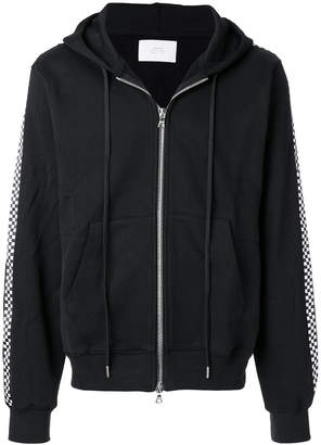Stampd front zip hooded jacket