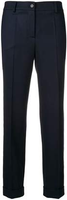 P.A.R.O.S.H. slim-fit cropped trousers