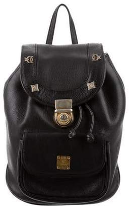 MCM Vintage Mini Leather Backpack