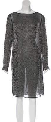 Needle & Thread Embellished Knee-Length Dress
