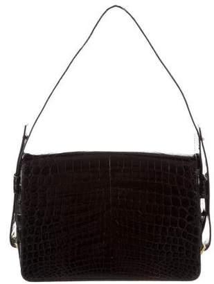 Saint Laurent Vintage Crocodile Shoulder Bag