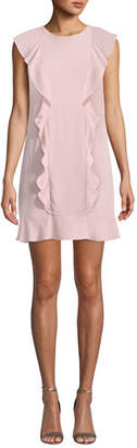 Amanda Uprichard Rutherford Ruffle Mini Dress