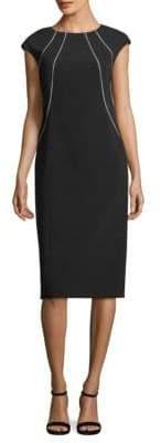 Lafayette 148 New York Deloris Piped Dress