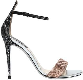Rene Caovilla 105mm Swarovski Satin Sandals