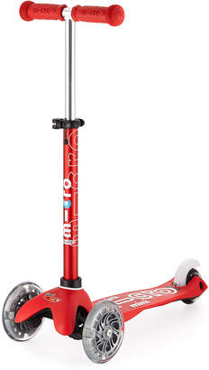 Micro Kickboard Mini Deluxe Light-Up Scooter, Red