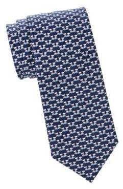 Salvatore Ferragamo Scottie Dogs Silk Tie