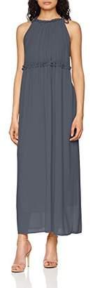 Only Women's Onlceremony Halterneck Long WVN Dress,10 (Manufacturer Size: )
