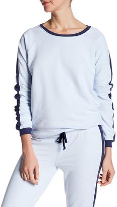 Alternative Long Sleeve Stripe Pullover $54 thestylecure.com
