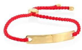 Monica Vinader Havana Friendship Bracelet/Coral