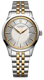 Victorinox Men's Alliance Two-Tone Stainless Steel Bracelet Watch