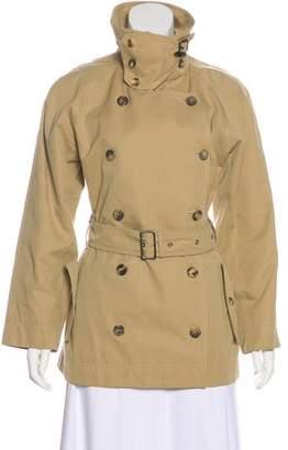 Saint Laurent Vintage Cotton Trench Coat