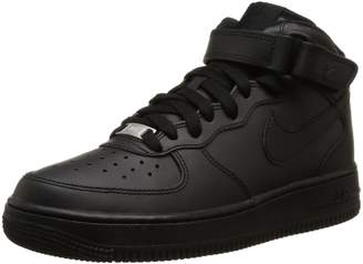 Nike Force 1 Mid (GS) Youth Boys 4 Basketball Leather Basketball Shoes