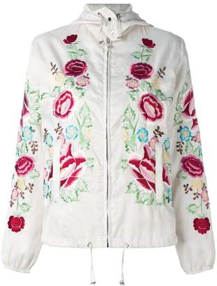 P.A.R.O.S.H. floral embroidered bomber jacket