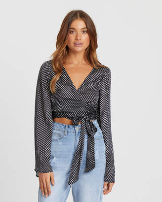 Drama Bell Sleeve Top