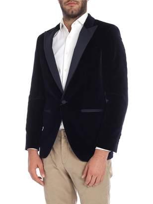 Hackett Jacket Velvet 450245r. Navy