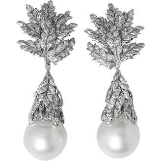 Buccellati White gold earrings